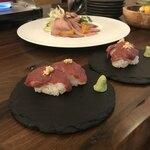 122005530 - 馬肉の肉寿司。                       美味し。