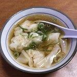 中華料理 哈爾濱 - セットのスープ