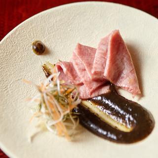 近江牛を様々な調理法でご賞味いただく会席料理