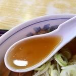 味龍 - チャーシューワンタン麺 スープアップ