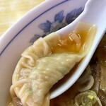 122011218 - チャーシューワンタン麺 ワンタンアップ