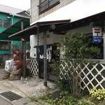 ヨコクラうどん - 入口