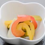 恩納つばき - 島野菜のピクルス