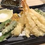 日本酒・和食処 神田 木花 - 天ぷら