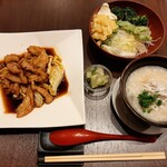 yuechixaitsuxonfa- - メイン料理は2種類から、ご飯も中華おじやか白ご飯が選べる!サラダバー付き平日限定ランチ1,000円