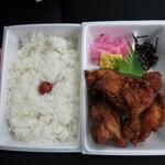 米やのコシヒカリ弁当 - 料理写真:唐揚げ弁当¥550