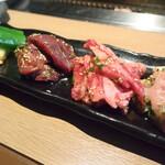 Yakinikukappoutsukitohasu - 焼肉ランチ(ハラミ・カルビ・セセリ)