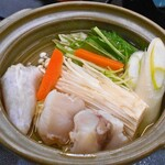 122021588 - 夕食(ふぐ鍋)