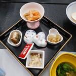ホテル小柳 - 夕食(前菜)