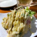 焼き鳥酒場 角福 - ポテトサラダ