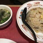 マルキ屋 - 炒飯 580円