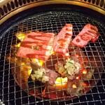 122038182 - 松阪牛のカルビ、松阪牛のタン