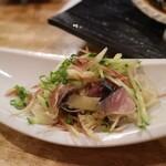 フィッシュ オン ディッシュ ロリー - 〆鯖とみょうが甘酢生姜和え