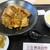 黄金の華 - バラ角煮 ゴロゴロの真っ黒いチャーハン