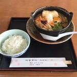 みかわ - 上州辛っ風うまみそうどん(750円)