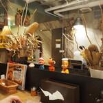 スープカレーGARAKU - 店内
