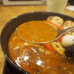スープカレーGARAKU - とろとろ炙り焙煎角煮(スープカレー)