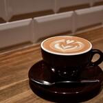 COFFEE VALLEY - ラテ(HOT)@550円