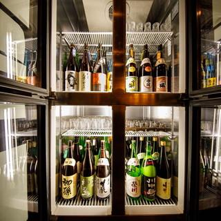 日本酒50種無制限飲み放題が3,000円で楽しめる!