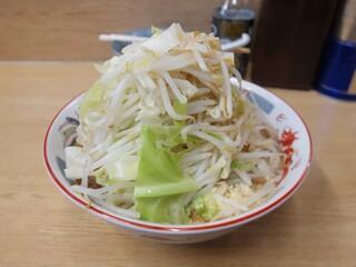 ラーメン二郎 栃木街道店 - 麺少なめ、ヤサイ・ニンニク