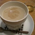 おひさまや - ほうじ茶チャイ 600円