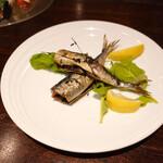 Trattoria THE CODE - イワシの香草焼き