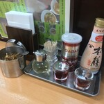 かづ屋 - かづ屋(東京都目黒区下目黒)卓上調味料