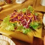 122070034 - 定食のサラダ
