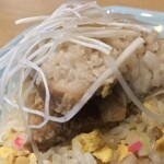 中華 味一 - 中華 味一(東京都目黒区下目黒)背脂焼豚炒飯