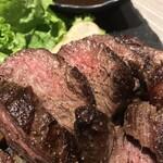 肉と和SAKEの個室居酒屋 ばく  - 肉と和SAKEの個室居酒屋 ばく 五反田店(東京都品川区西五反田)本日の牛ステーキ