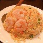 中国家庭料理 ニイハオ - エビ炒飯
