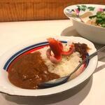 ふるめん - 牛すじと煮豚のカレー 小