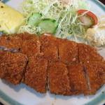 焼肉ジャンビア  - ミルかつランチ