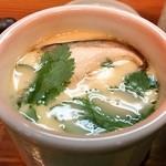 南草 - 寿司定食1050円(茶碗蒸し)
