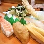 南草 - 寿司定食1050円