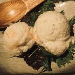 囲炉裏料理と日本酒スローフード 方舟 - 北陸産 ポテトサラダ