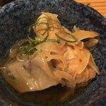 囲炉裏料理と日本酒スローフード 方舟 - お通し