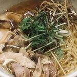 肉そば鶏中華最上川 - 鶏中華(コリコリ鶏)