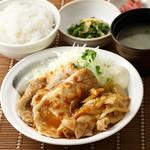 ごはんどき - 料理写真:定番!生姜焼き定食!