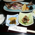 海鮮料理 竹ノ内 - 焼魚定食