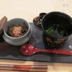 トゥ・ラ・ジョア - 赤米の椀蒸御飯