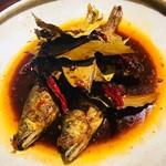 南方中華料理 南三 - 鮎の汁なし火鍋