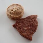 ルスルス - ピーカンクッキー(8枚378円)ちどり(6枚378円)