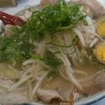 ラーメン藤 - 塩チャーシューメン煮玉子トッピ