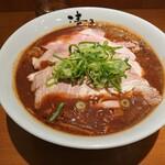 122112971 - こってり和歌山チャーシュー麺、麺ダブル