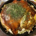 お好みハウス ABC - 料理写真:そば肉玉 もち チーズ トータル860円
