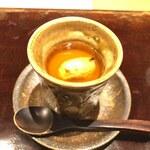 Amenimomakezu - 天然虎河豚白子の茶碗蒸し