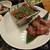 京の焼肉処 弘 - 料理写真:厚切りタンと和牛赤身