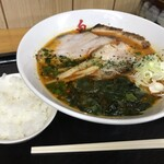鬼がらし - 味噌中辛820円+ライス平日サービス