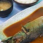 ばんや - サバ味噌煮定食